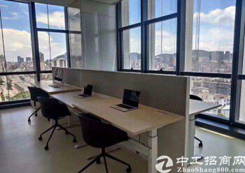 横岗地铁口精装修办公室出租,50平米起创意园区图片5