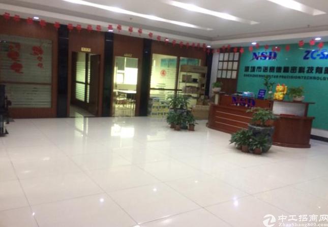 观澜福民新出2100平带豪华装修,水电齐全无需转让费厂房出租
