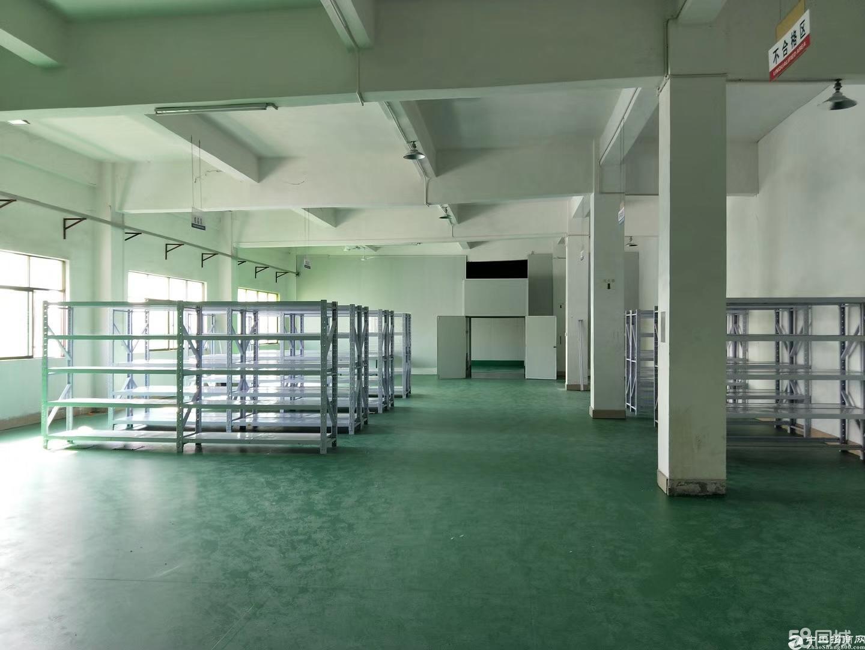 平湖华南城标准厂房700平出租可进大车