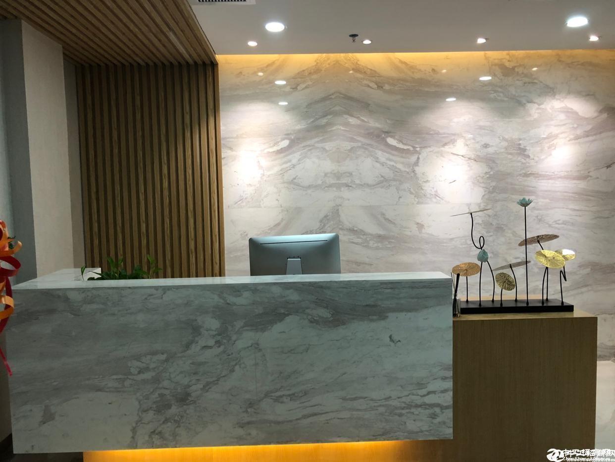 南山高新园地铁口120平精装办公室特价出租