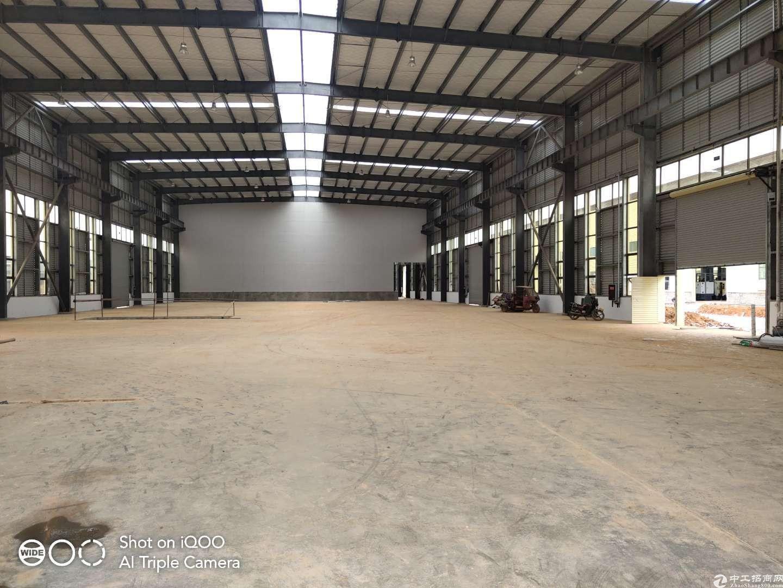 1000-5000平钢结构单层厂房塑料机加可进-图2