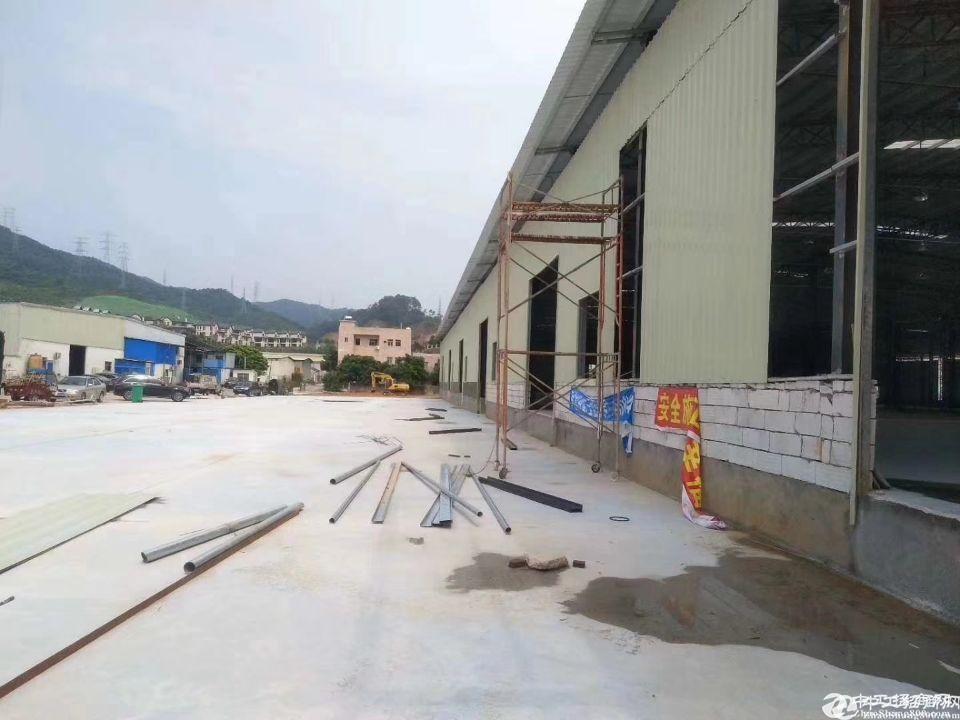 大岭山镇龙大高速公路出口新建物流仓库厂房5000平方米出租