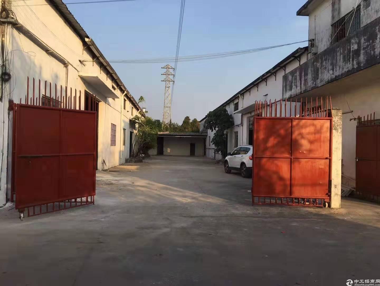 南沙大岗原房东2850平方简易厂房仓库,一线大路边,独门独院