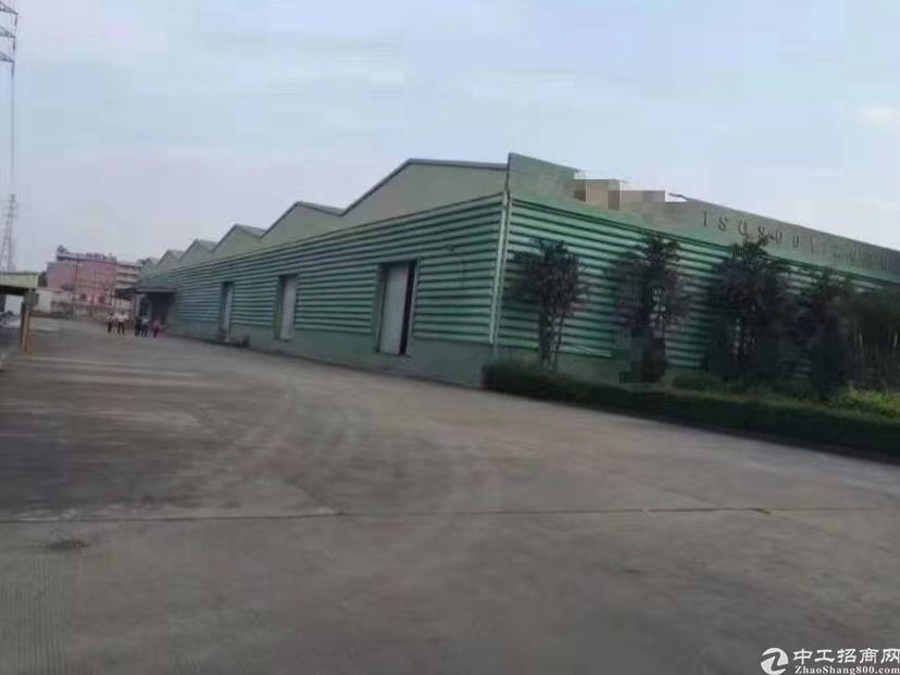 龙华梅林关8米高物流仓库40000平方厂房出租,空地超大