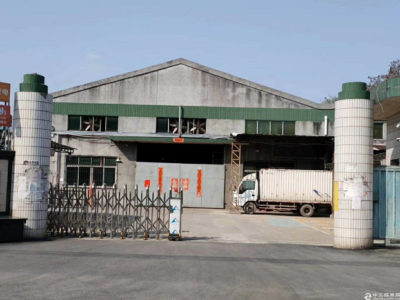 惠阳区原房东单一层钢构厂房5630平方米出租