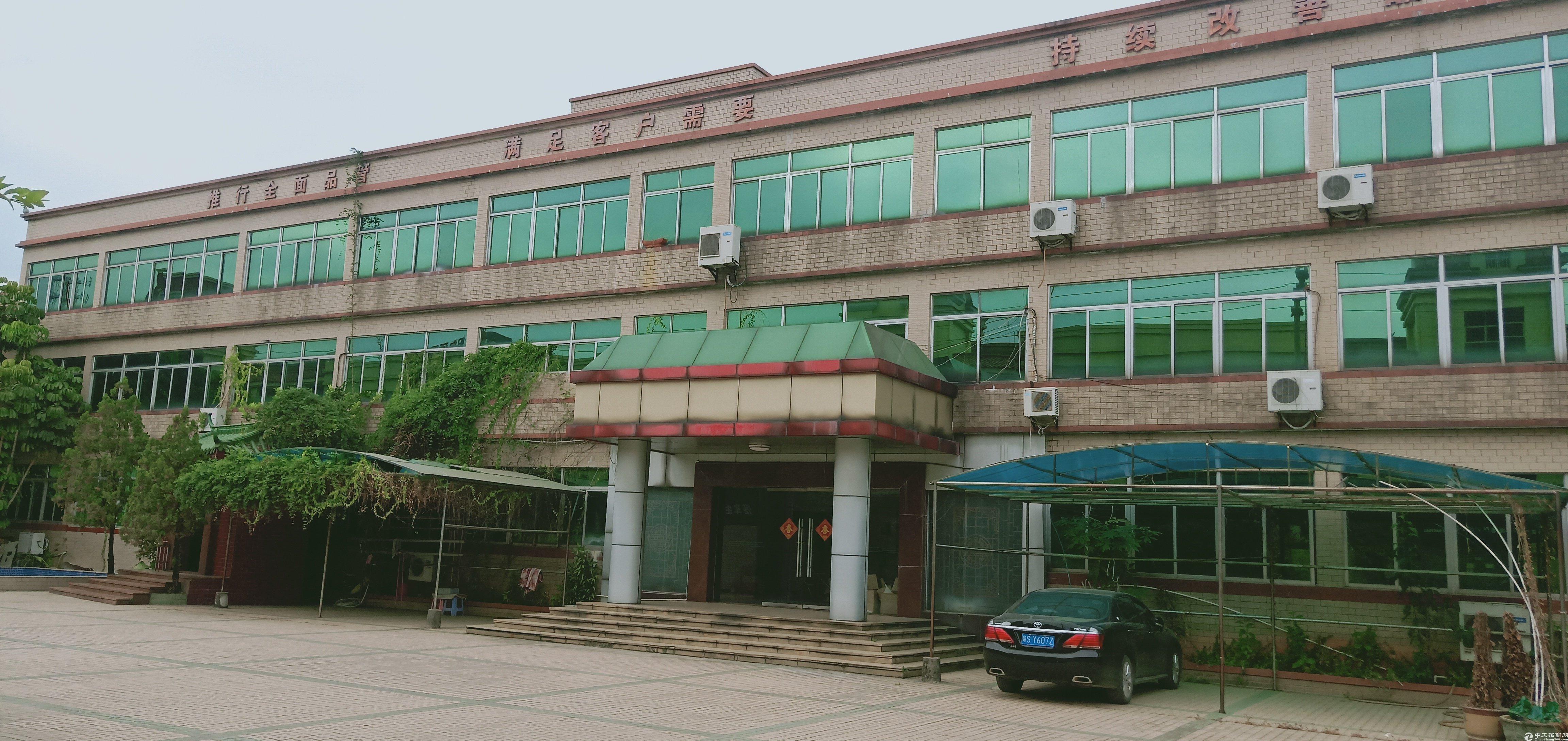 标准独院厂房占地12亩国有建筑8000平米急出售