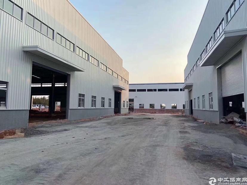 广州番禺占地20亩建筑9000㎡单一层国有证厂房出售国道边