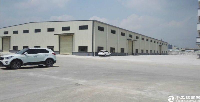 惠阳镇隆新出砖墙到顶钢构厂房5100平