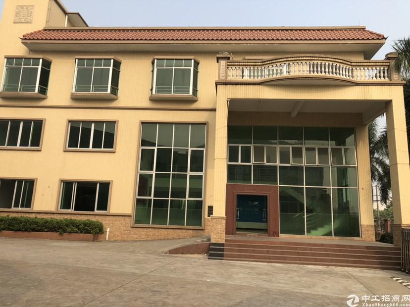 广州番禺建筑9300㎡独门独院超大空地国有双证厂房出售