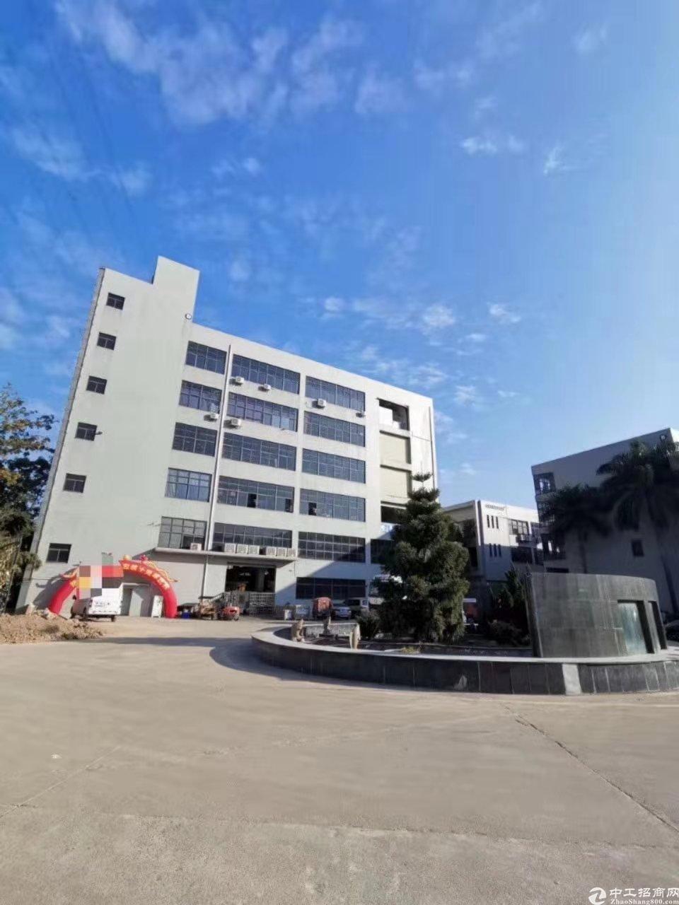 镇隆独栋厂房7500平有红本可办环评可分租