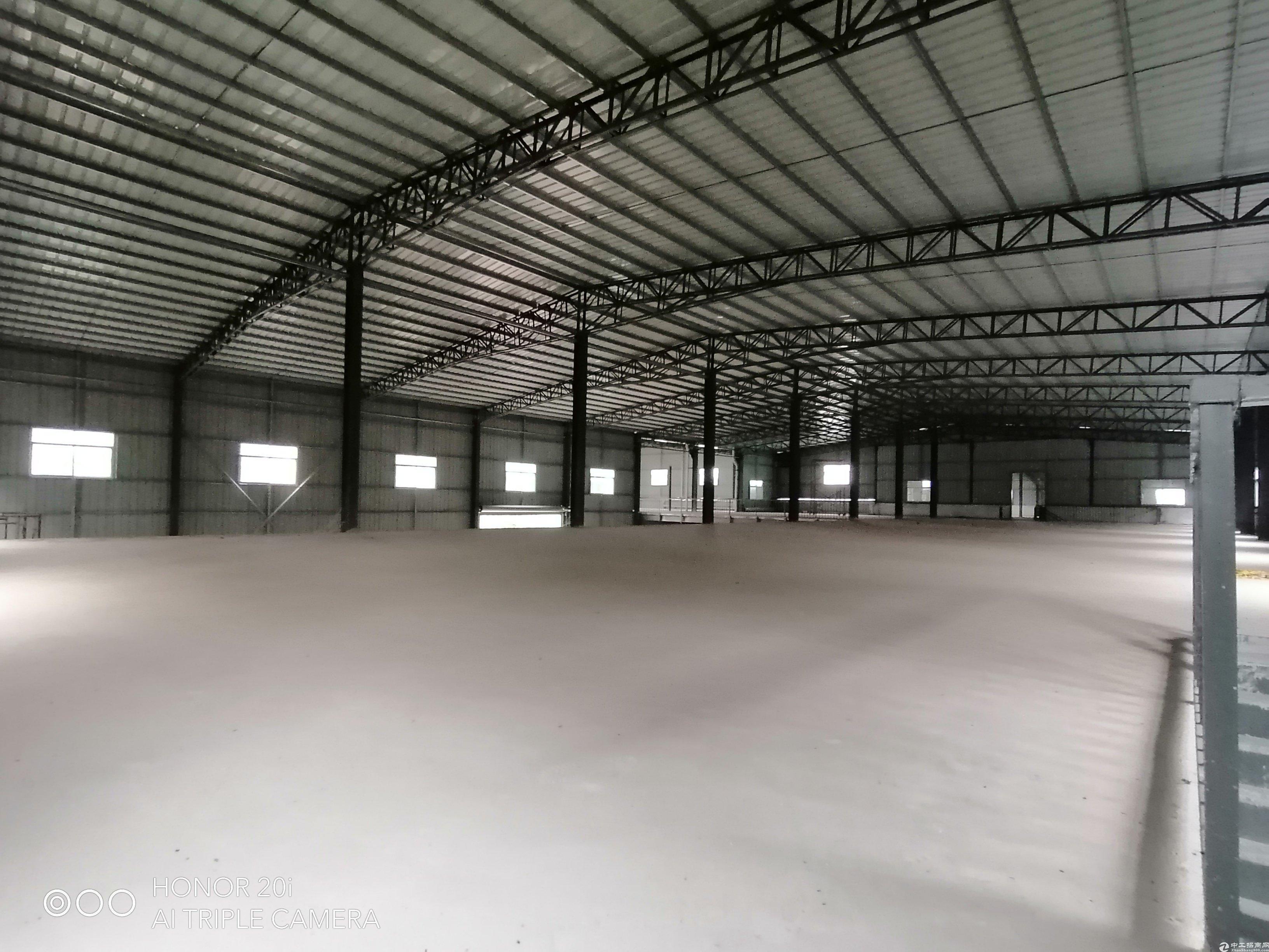 惠阳镇隆原房东红本独院厂房两层6000平方...