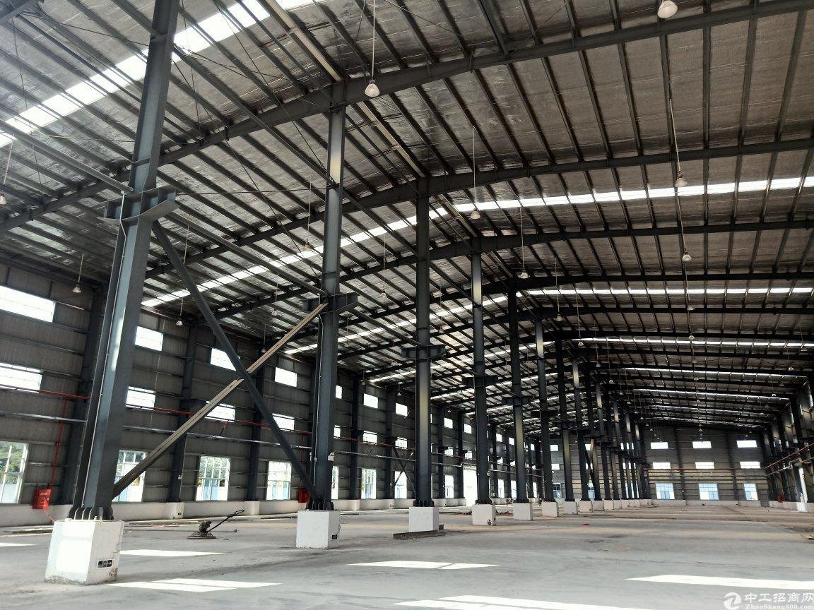 广州增城占地133亩国有证花园厂房出售超大空地可定建低价出售-图3