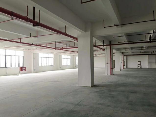 新密全新钢结构12米层高厂房,可办证