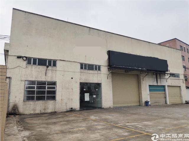 独门独院,南沙大岗1290方简易厂房仓库出租,近谭灵大道