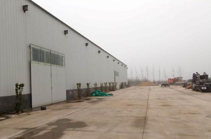 濮阳县新南环路大型厂房出租,1700平方,有天车