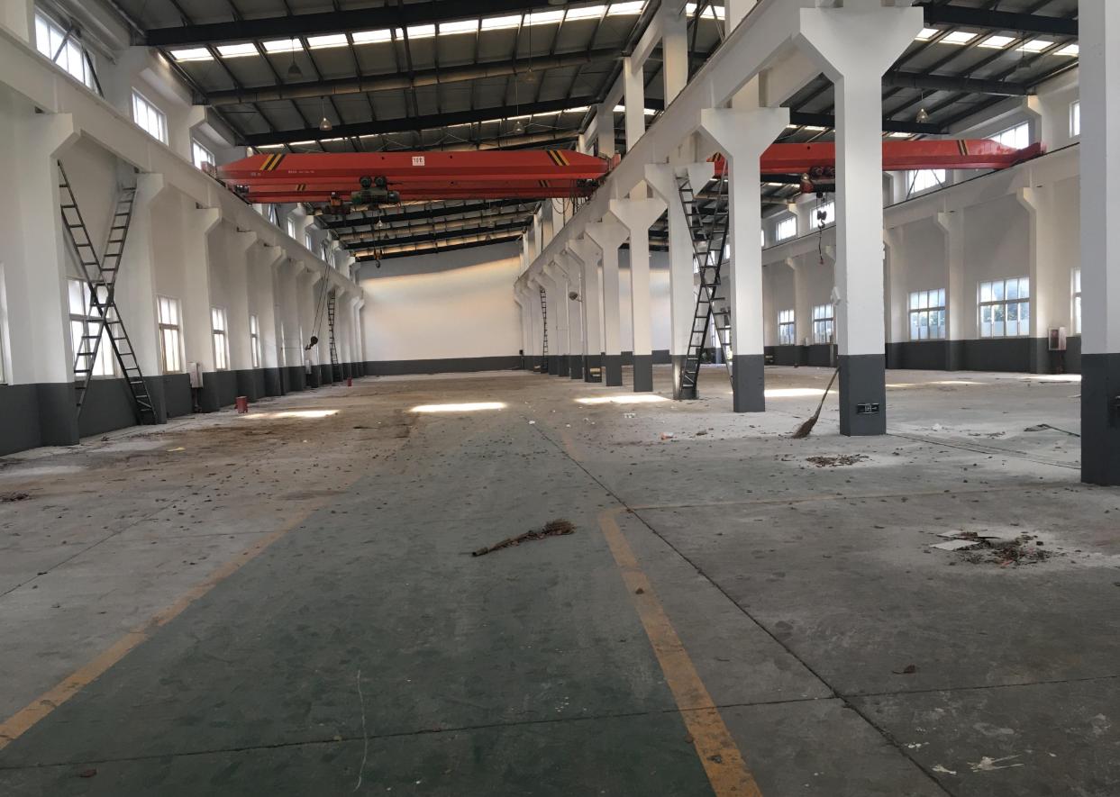 嘉定外冈104板块8000平米独栋火车头厂房分割出租