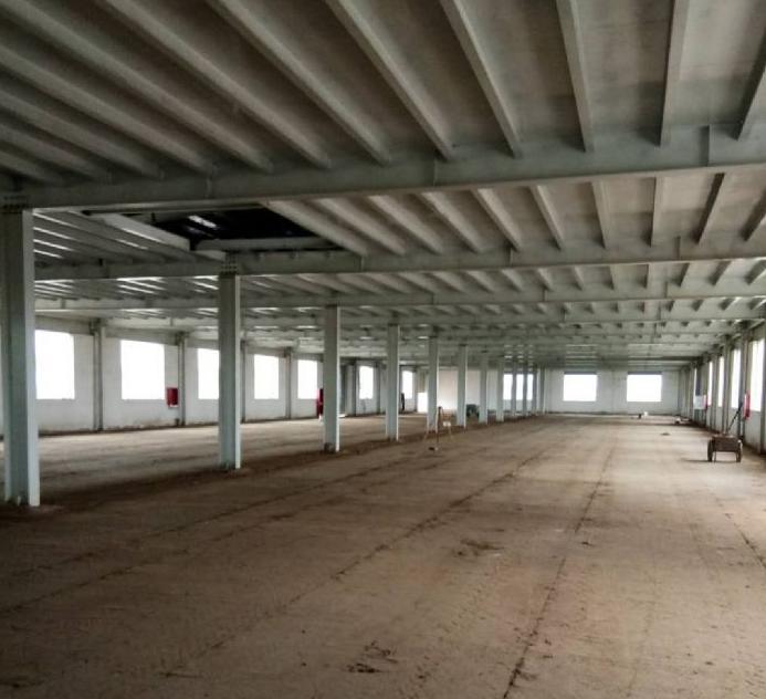 全新钢结构双层有产权2400平独院厂房