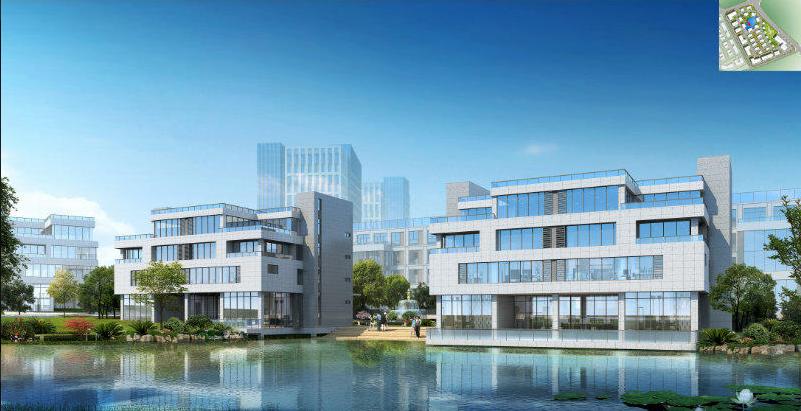 望城1200-2400㎡花园独栋办公厂房出售
