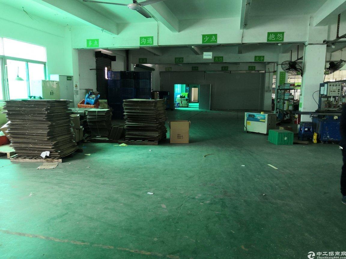 坪山碧岭靠近天虹商场村委厂房楼上带装修450平米出租