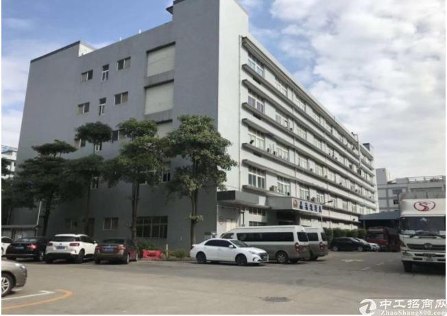 坪山龙田新出红本厂房楼上1080平方招租、带装修