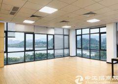 广州荔湾新出湖景房大面积写字楼,落地窗采光好,格局多样化