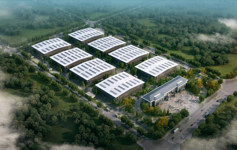 丰县赵庄镇工业园区单层厂房出租1000平高12米