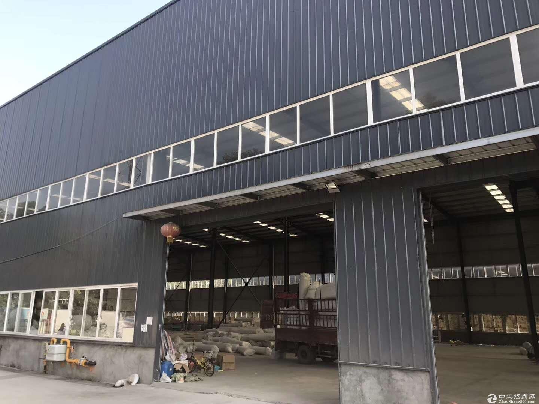 丰县王沟镇单楼木业园4000平钢构厂房出租可分租