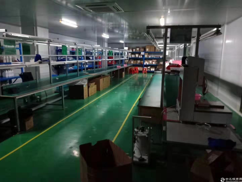 坂田上雪科技园四楼1500平方厂房出租