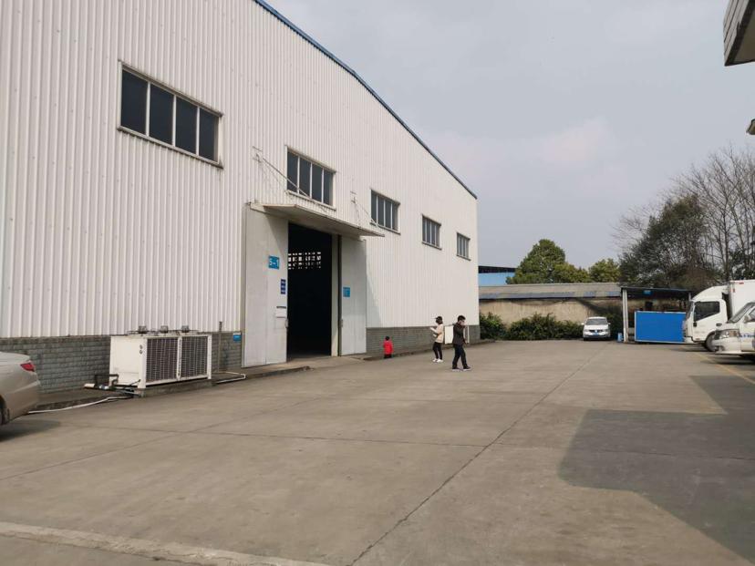 徐州高新区,4000平钢架厂房出租带办公室可分租
