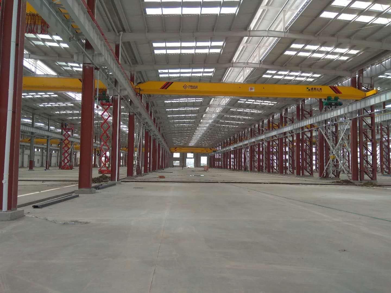 徐州高新区,全新厂房钢构厂房出租,带10吨行车