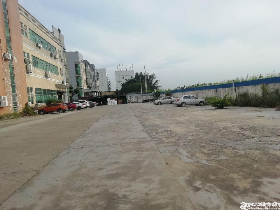(业主直租)南山西丽大型园区新出一楼厂房1500平方出租