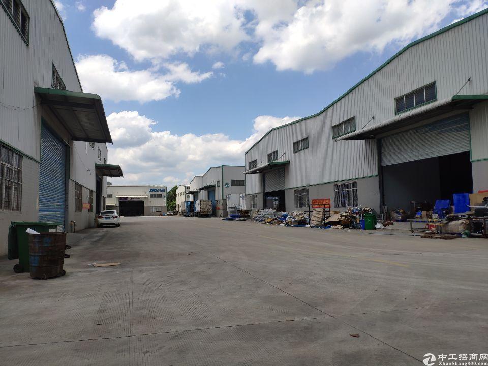 增城区新塘镇单一层钢构4300平方9米高厂房仓库出租-图6