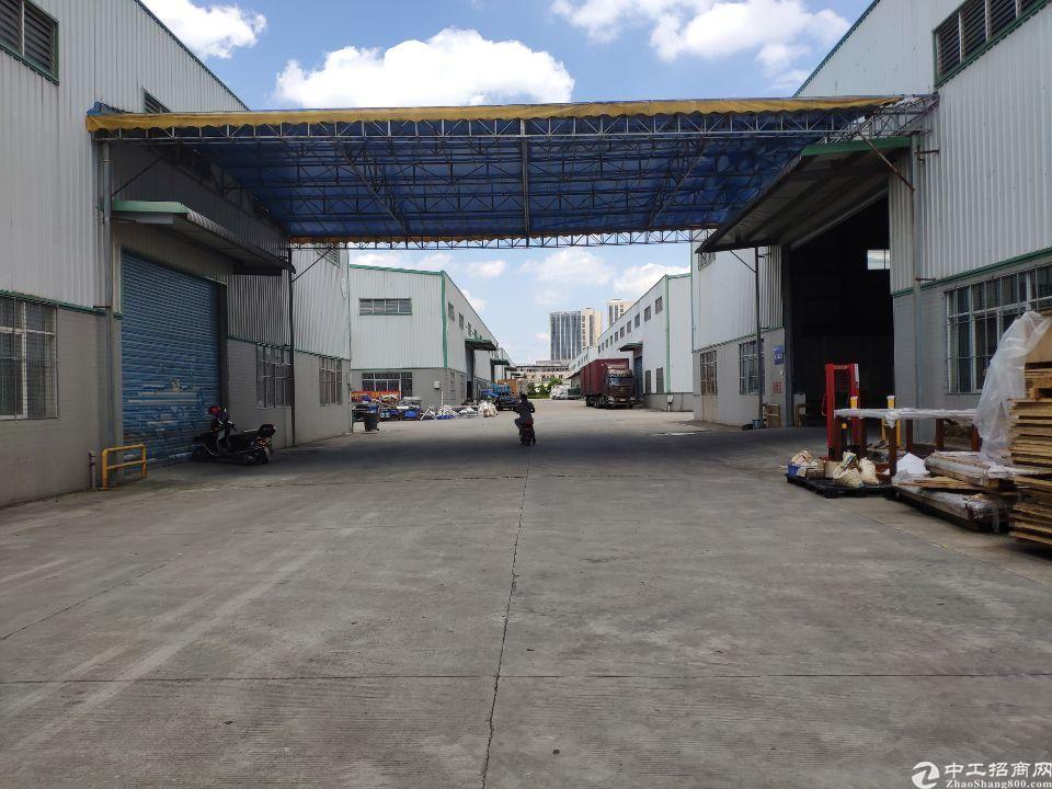 增城区新塘镇单一层钢构4300平方9米高厂房仓库出租-图5