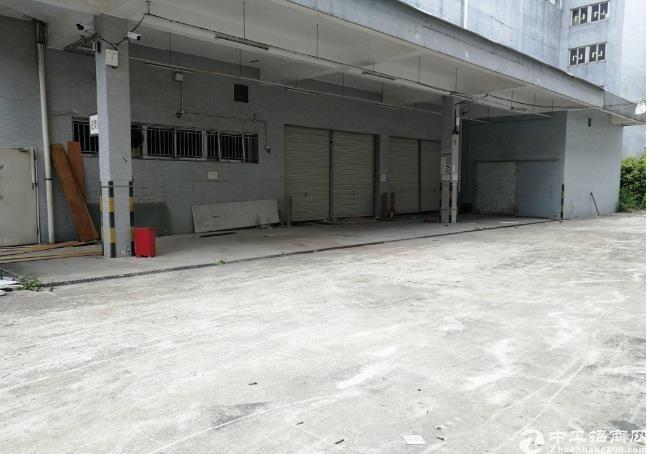布吉南岭新出整栋独门独院20000平红本厂房,可分租。