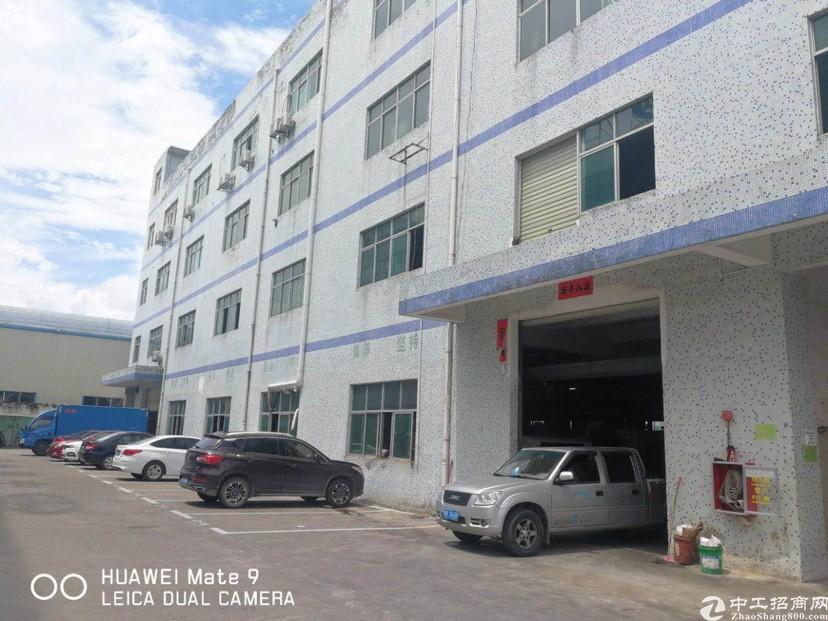 坑梓金沙地铁口附近新出楼上带精装800平方厂房出租!