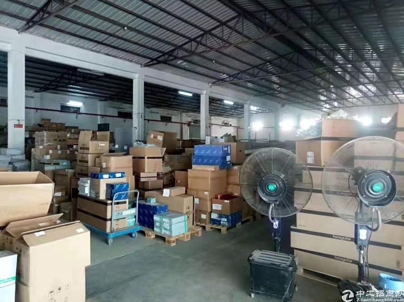 龙华地铁站口附近新出3000平钢构带卸货平台仓库出租