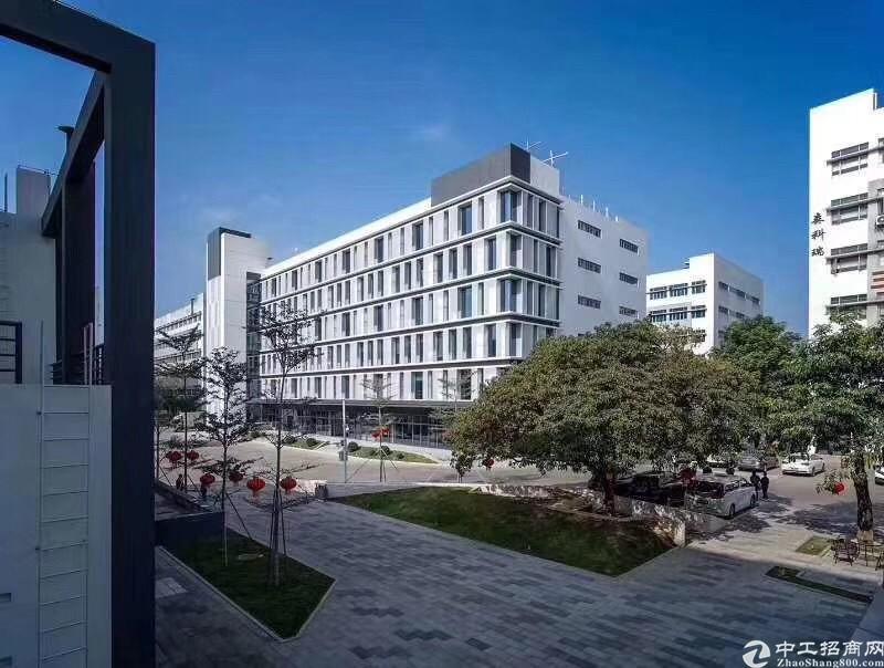 西丽南岗工业园新出整层1645平厂房出租,环境好,租金含税