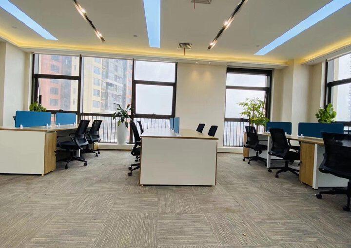 龙岗3号线永湖地铁站200米带全套家精装修写字楼236平出租图片4