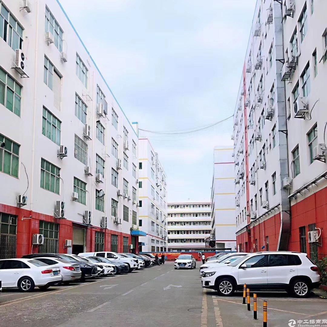 浪深圳工业区1400平原房东无公摊带装修厂房招租大小可以分租