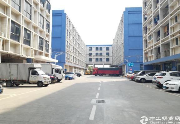 布吉联创4楼精装修厂房交通便利可做仓库电商1200平出租,