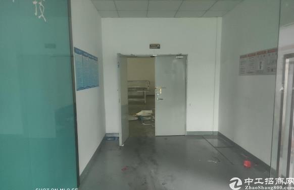 坂田新出二楼1000平方带装修办公仓库生产车间拎包入住