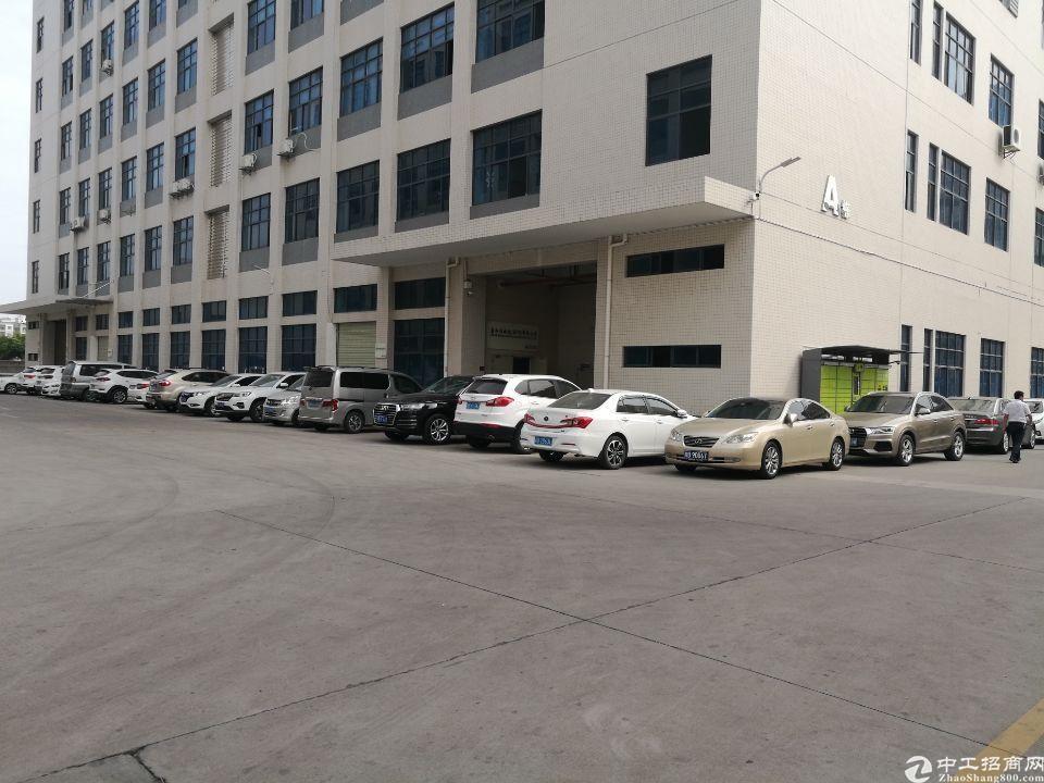 惠阳新圩路边一二楼厂房出租,每层2400平米