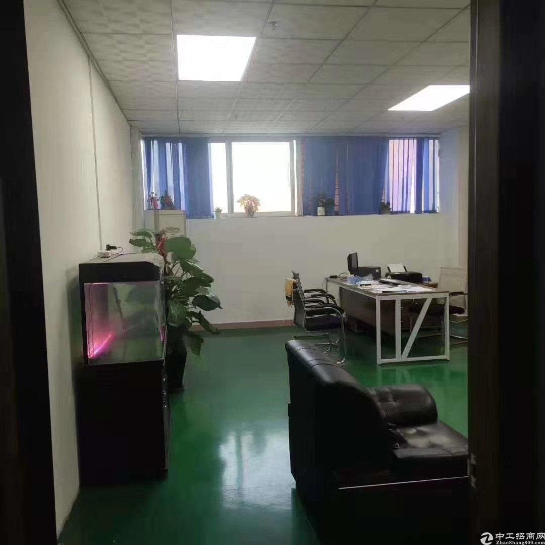 坪山新区龙田街道工业园三楼580平精装修厂房出租