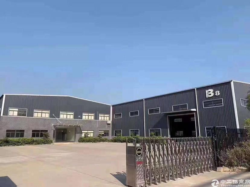 惠州博罗园洲原房东全新滴水8米单一层钢构厂房出租