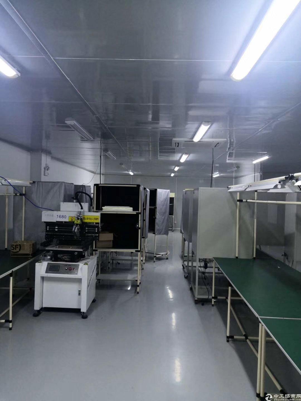 深圳龙岗中心城南联地铁站附近楼上1200标准厂房出租有红本