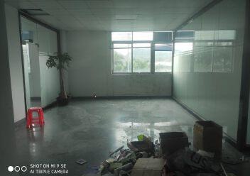 坂田厂房出租二楼1100平方带装修办公仓库生产车间出租图片2