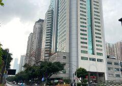 天河北华师地铁站光大银行大厦高层288平豪装办公室