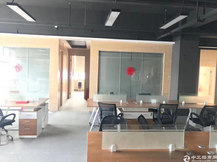 深圳带隔间装修家具,大浪地铁口1200平厂房出租