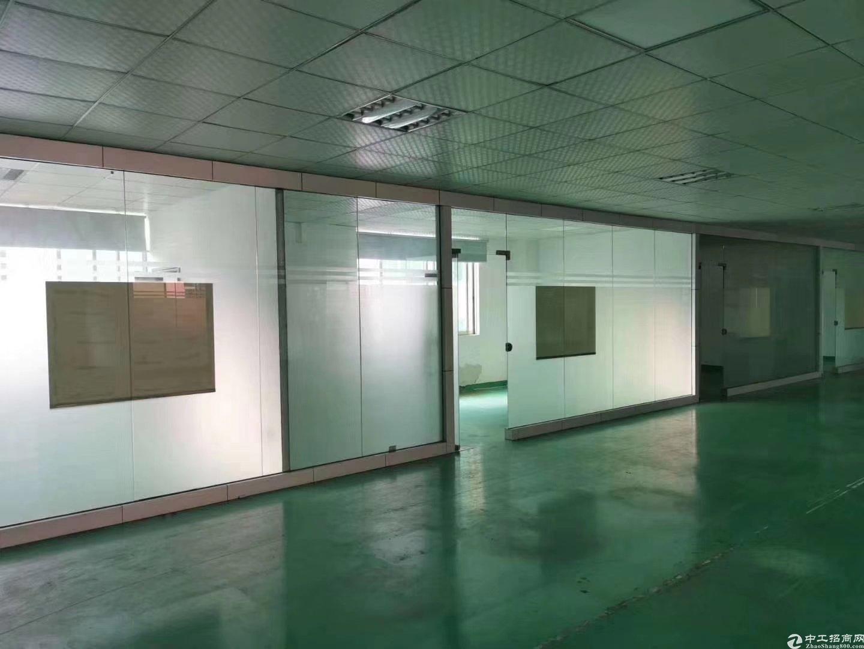 龙华大浪商业中心大型工业区形象非常好厂房仓库出租2058平