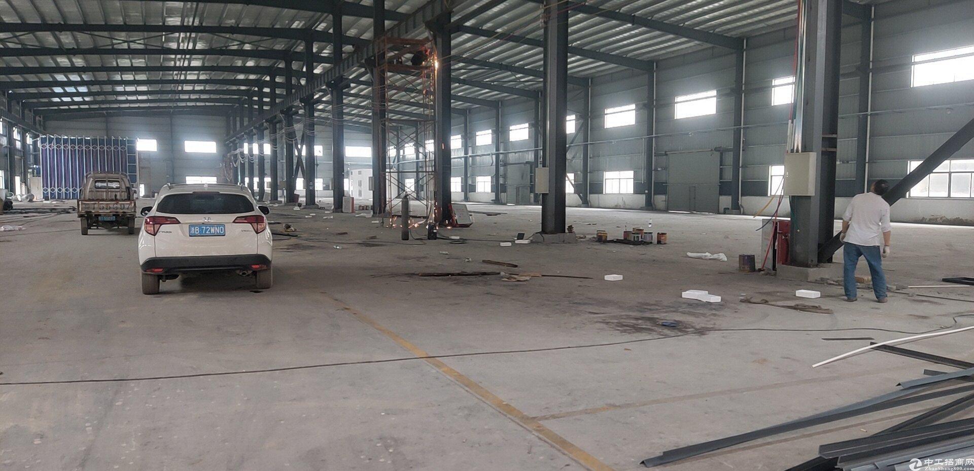 中山东凤工业园,标准厂房仓库2000方,可环评可分租高速路口